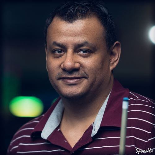 Armando Baquero - Megabucks Amateur Pool League