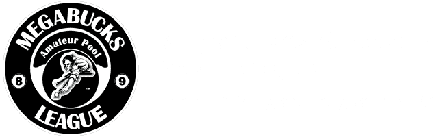 Logo - Megabucks Amateur Pool League