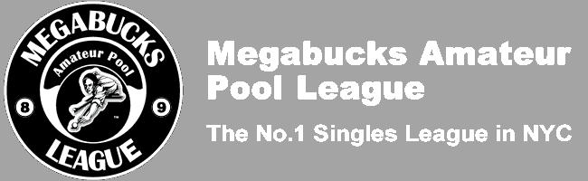 Logo - Megabucks Amateur Pool League